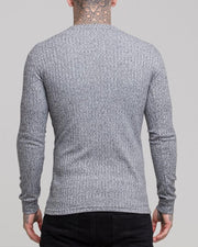Solid Long Sleeve Fitting T-shirt