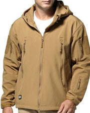 Solid Long Sleeve Hoodies Coats