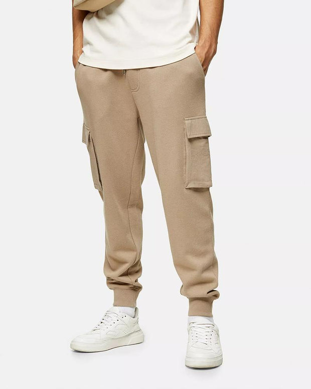 Casual Solid Color Cargo Pants