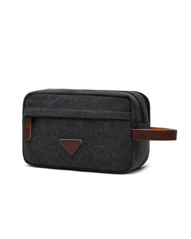 Solid Basic Accessory Pouch Hand Bag