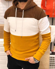 Colorblock Long Sleeve Loose Hoodies Sweatshirts