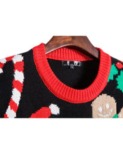 Chrismas Patterns Long Sleeve Sweaters