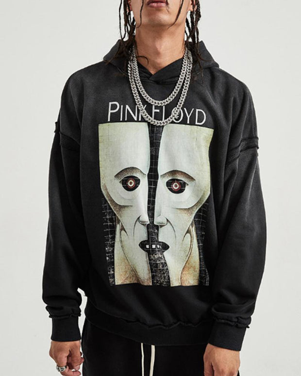 Figure Printing Long Sleeve Sweatshirt