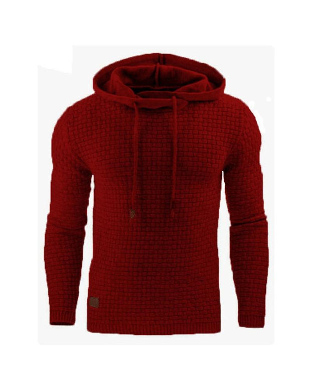 Embossing Solid Color Long Sleeve Sweatshirt