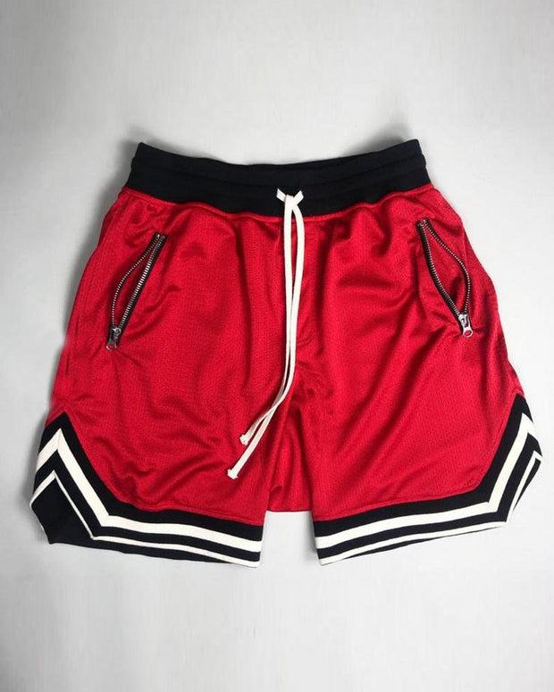 Sports Solid Color Short Pants