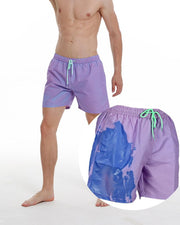Discoloration Drawstring Quick-dry Beach Pants