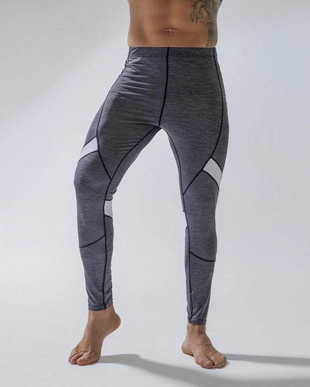 Colorblock Skinny Sporty Pants