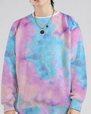 Tie Dye Long Sleeve Sweatshirt T-shirt