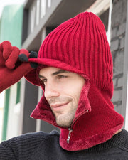 Outdoors Winter Plus Velvet Woolen Cap