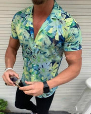 Floral Print Hawaiian Shirt