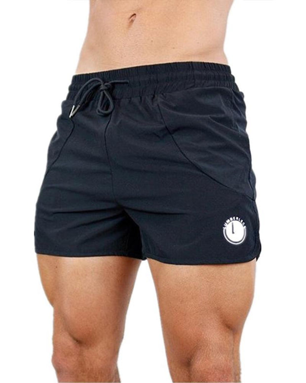 Casual Sports Solid Color Fitness Shorts Pants