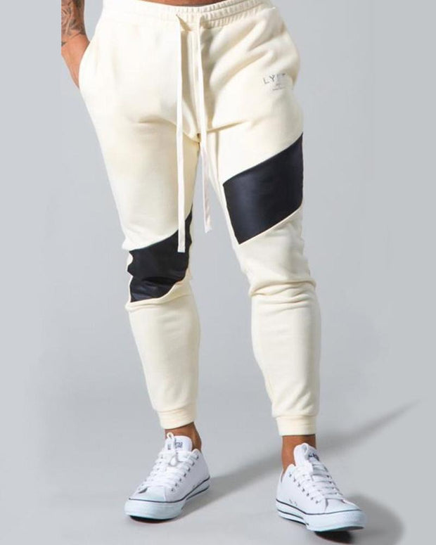 Colorblock Skinny Sporty Pencil Pants