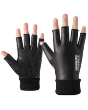 Solid Open-figure Anti-wind Skiing Gloves