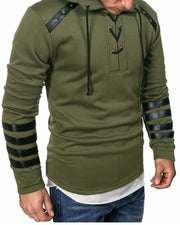 Solid Long Sleeve Hoodies Sweatshirts