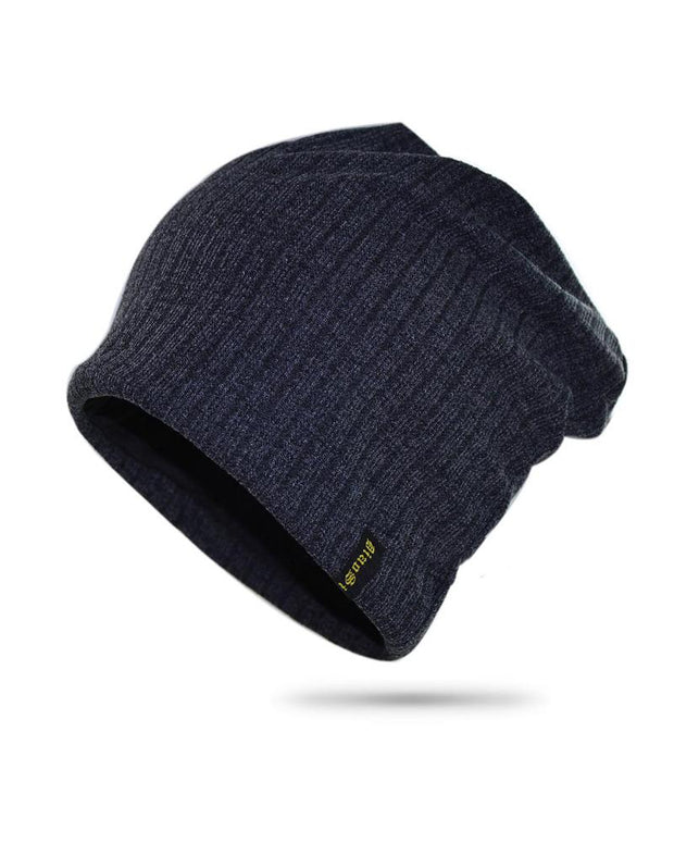 Solid Brief Color Knit Rock Hats