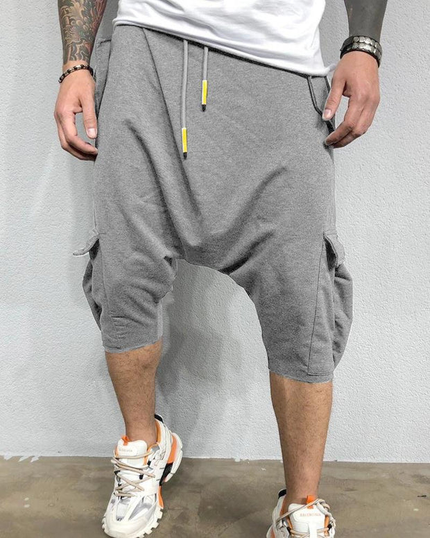 Drawstring Baggy Shorts