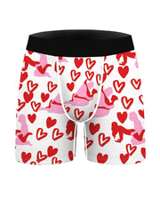 Christmas Patterns Printing Skinny Boxer Shorts