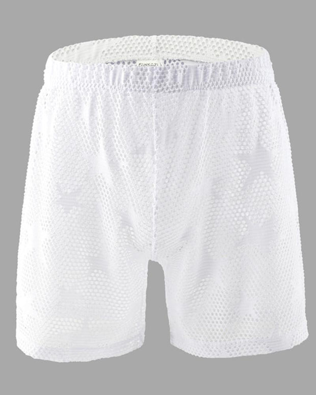 Star Fishnet Short Straight Sleepwear Pants