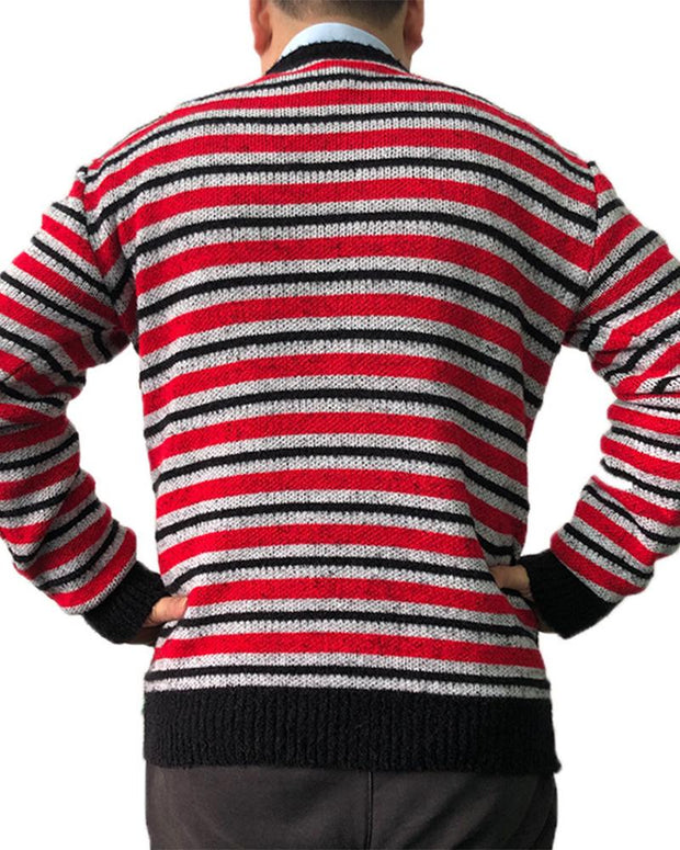 Christmas Patterns Long Sleeve Sweater