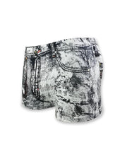 Print Skinny High Elastic Underwear Shorts