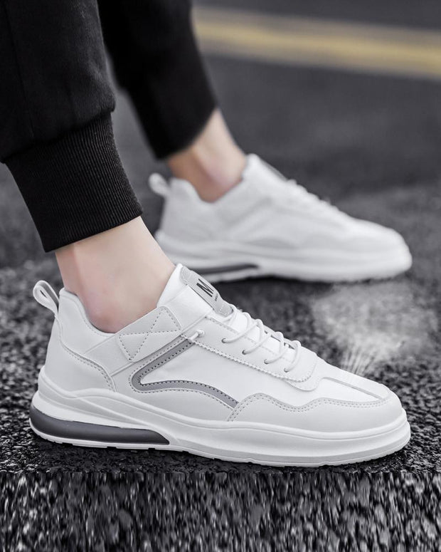 Color Block Round-toe Sport Sneakers