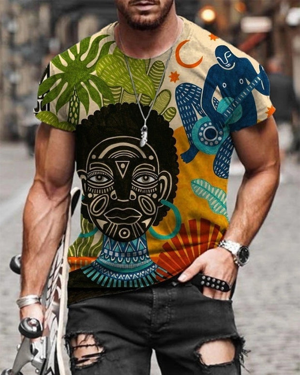 All Over Print Short Sleeve T-shirt