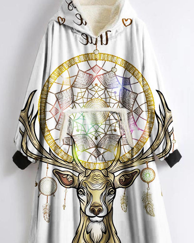 Dreamcatcher Printing Long Sleeve Sweatshirts