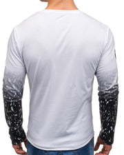 Splash Gradient Long Sleeve T-shirt