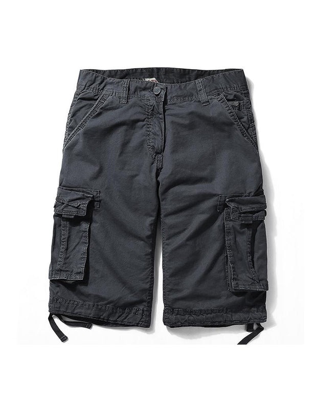 Brief Solid Cargo Shorts