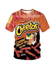Cheetos Print T-Shirt
