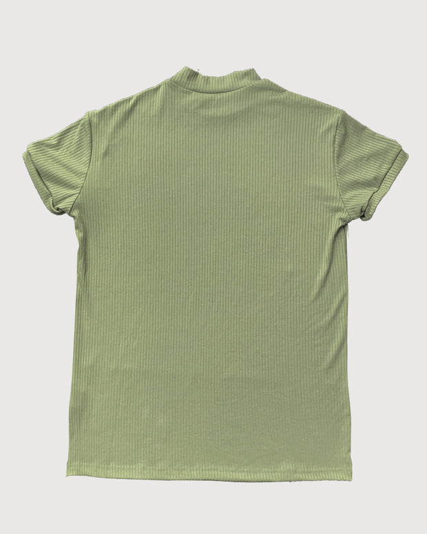 Solid Skinny Short Sleeve T-Shirts