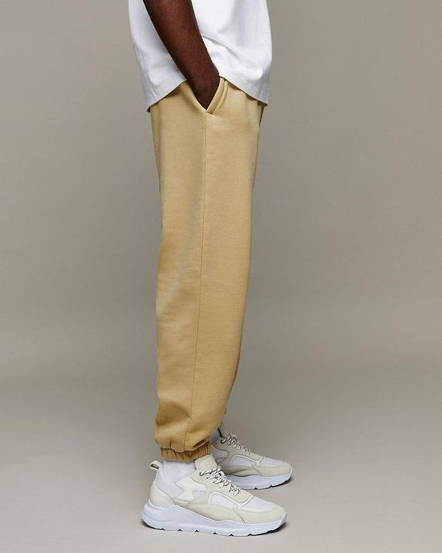 Solid Color Casual Straight Pants