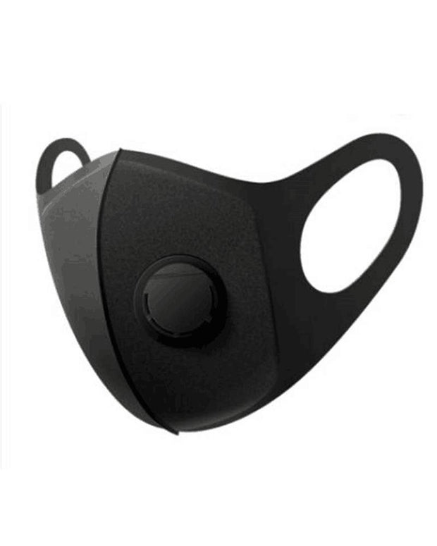 Solid Breathing Valve Earloop Mouth Mask