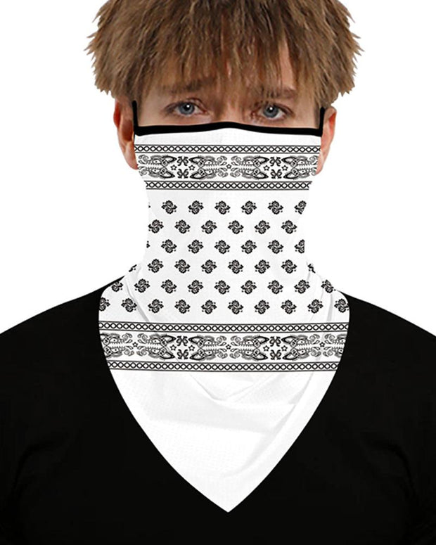 Print Breathable Sun Block Bandanas