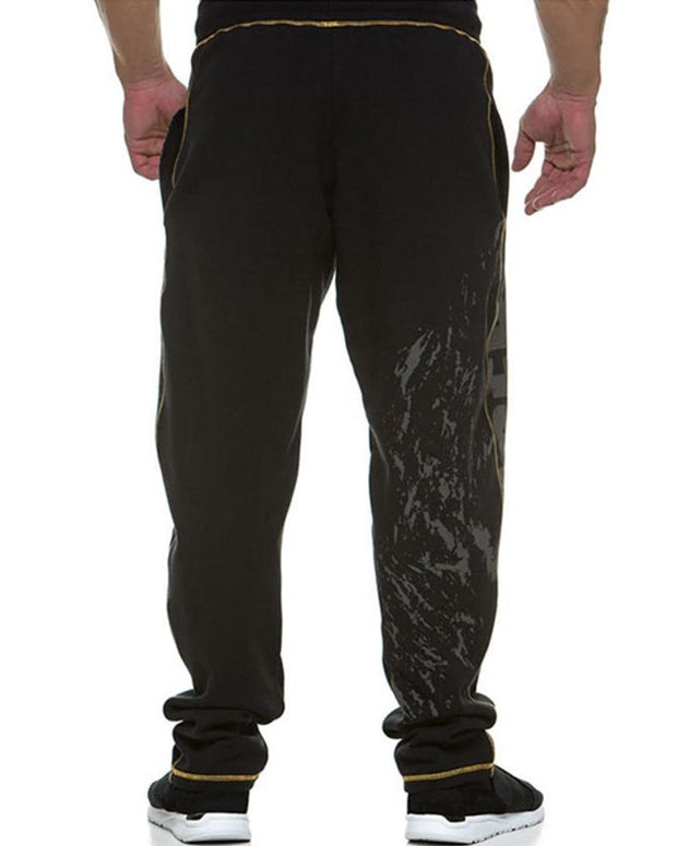 Letter Printing Sport Straight Pants