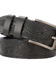 Solid Retro Patterns Buckle PU Belts