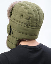 Solid Fluffy Patch Sonw Cap