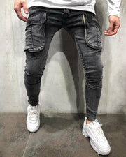 Fashionable Washing Jeans With Pokets