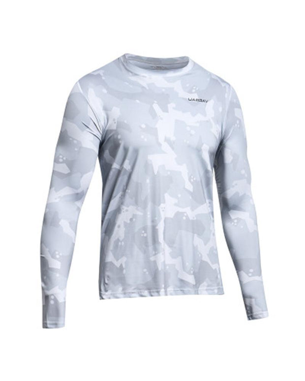 Letter Printing Quick-drying Long Sleeve Sports T-shirt