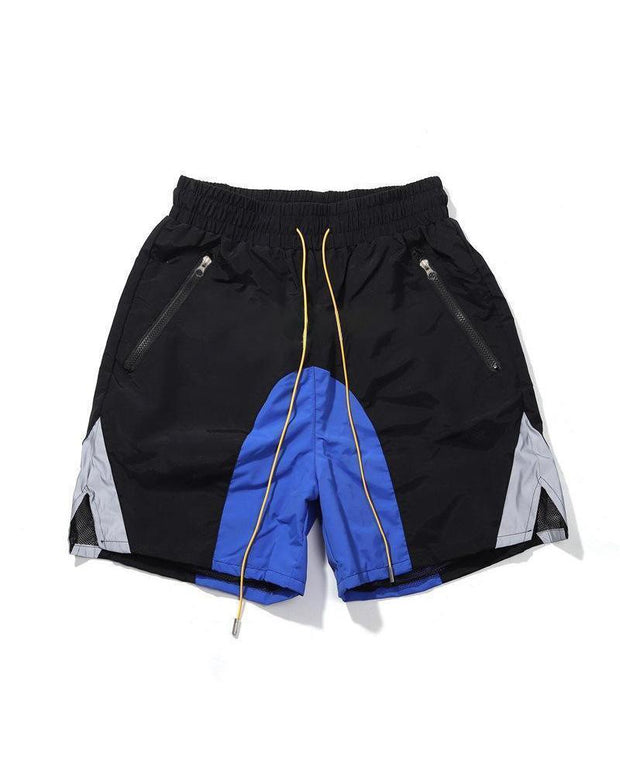 Mesh Quick-dry Reflective Sports Shorts
