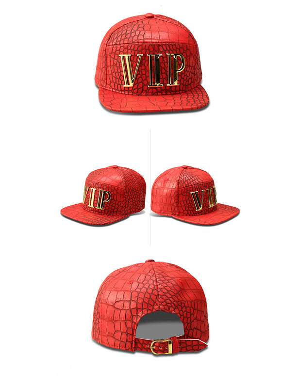 Metallic Letter Solid Baseball Hip-hop Cap