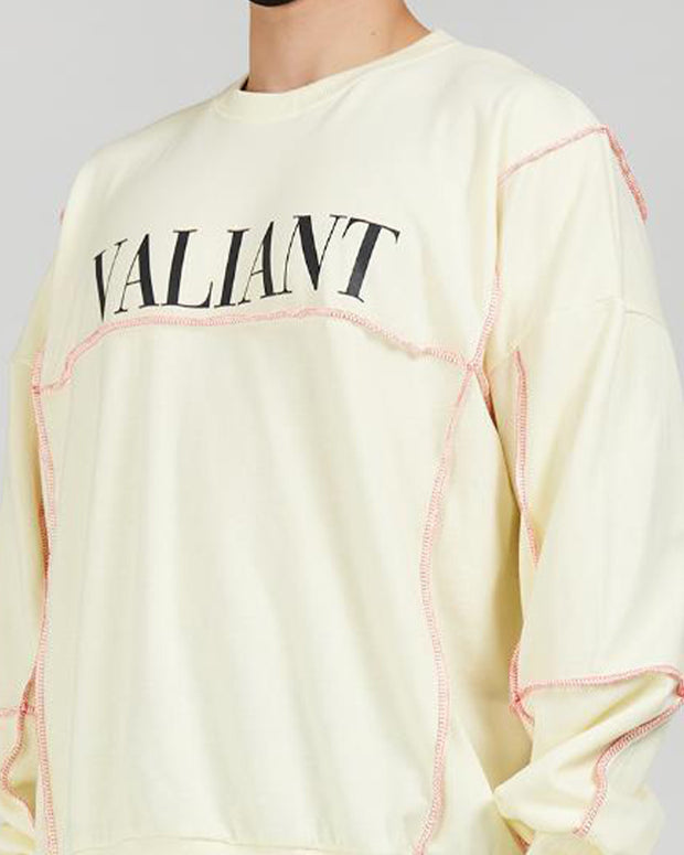 Letter Printing Long Sleeve Loose T-shirts