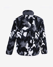 Camouflage Long Sleeve Loose Coats