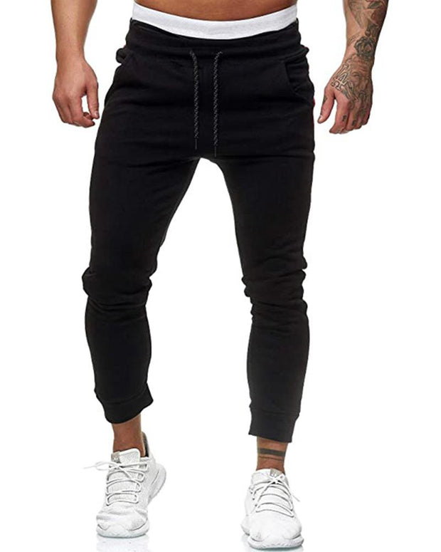 Colorblock Skinny Sporty Jogger Pants