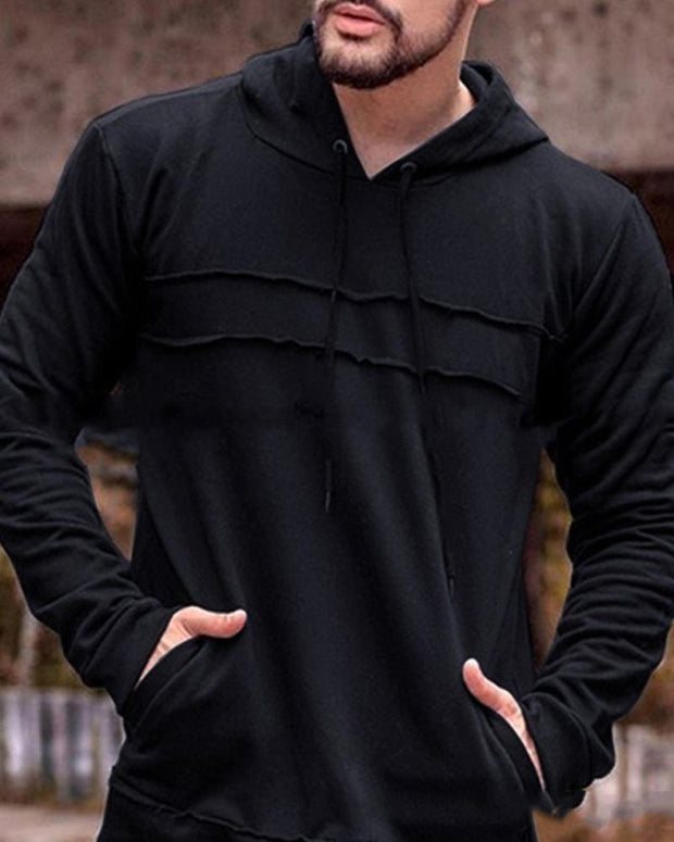 Solid Long Sleeve Loose Hoodies Sweatshirts