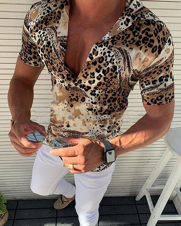 Cheetah Short Sleeve Shirt
