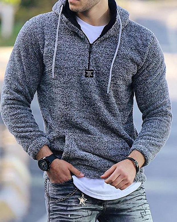 Solid Color Long Sleeve Sweatshirt T-shirt