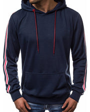 Side Stripe Slim Fit Hoodie