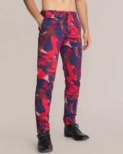 Casual Printing Suit Pencil Pants