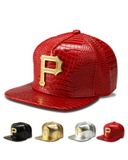Solid Color Splicing Studded Rhinestone Letter Baseball Cap